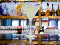 lemon drop martini served at seagar's prime steaks & seafood dining destin fl