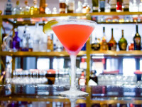 Pink martini served at seagar's prime steaks & seafood dining destin fl