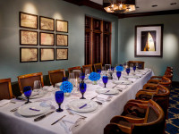 The boardroom at seagar's restaurant destin